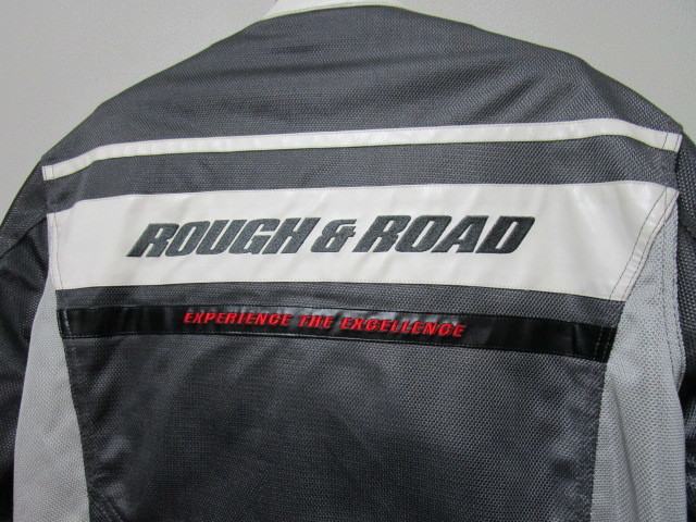 ROUGH&ROAD メッシュライディングジャケット・LL(ラフ&ロードプロテクターライダースジャケット)_画像7
