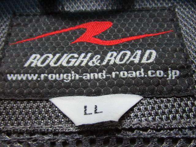 ROUGH&ROAD メッシュライディングジャケット・LL(ラフ&ロードプロテクターライダースジャケット)_画像9