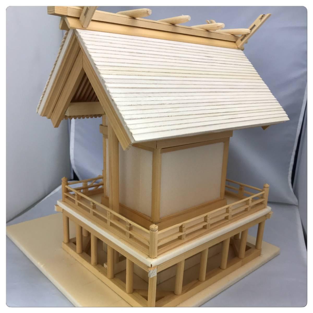 一点もの☆寺社仏閣の元設計士の完全手作り・神棚にも☆総ヒノキ☆_画像4