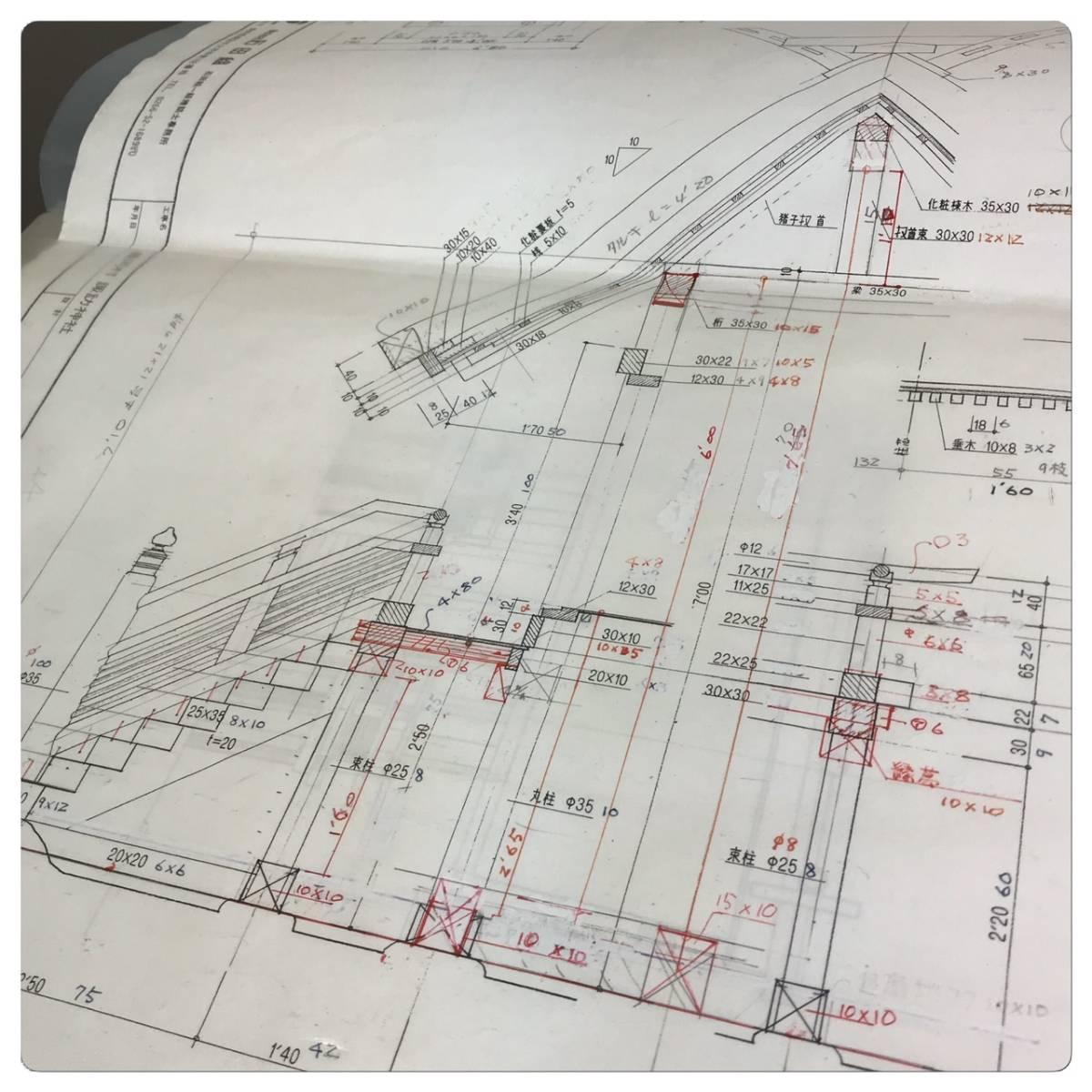 一点もの☆寺社仏閣の元設計士の完全手作り・神棚にも☆総ヒノキ☆_画像5