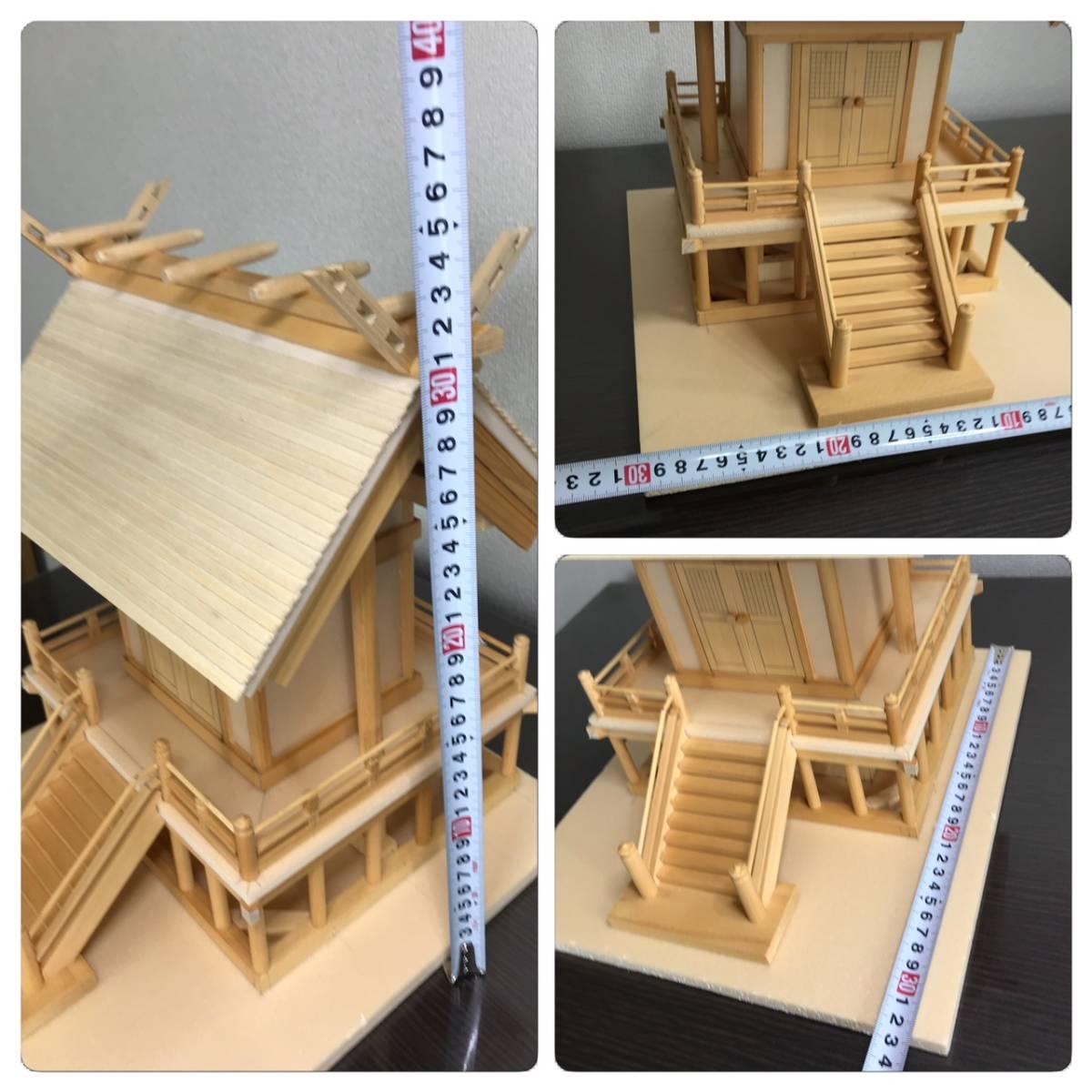 一点もの☆寺社仏閣の元設計士の完全手作り・神棚にも☆総ヒノキ☆_画像9
