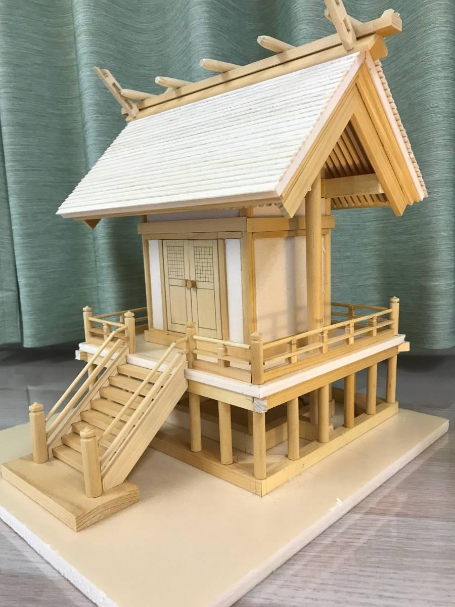 一点もの☆寺社仏閣の元設計士の完全手作り・神棚にも☆総ヒノキ☆_画像3
