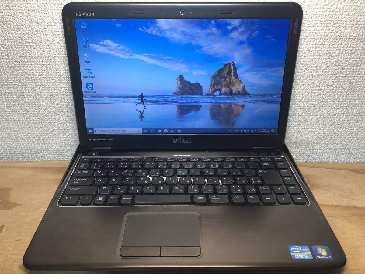 WIN10 DELL INSPIRON 13Z N311Z Core I5-2430 2.40GHz 4G 500G HD3000 OFFICE 2013搭載 東京即日発送