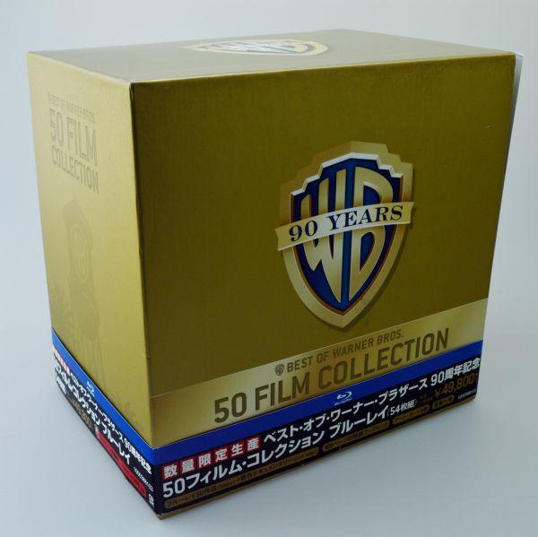 【Blu-ray】ベスト・オブ・ワーナー・ブラザース 90周年記念50フィルム・コレクション ブルーレイ(数量限定生産)_画像1