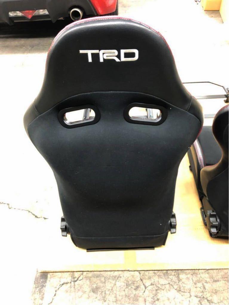 TRD スポーツシート セミバケ ZN6 86 2脚セット 美品 付属品揃ってます!〈引取希望 神奈川県川崎市より〉※最後の出品です_画像6