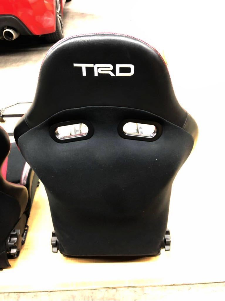 TRD スポーツシート セミバケ ZN6 86 2脚セット 美品 付属品揃ってます!〈引取希望 神奈川県川崎市より〉※最後の出品です_画像3