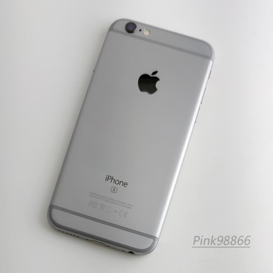 ☆人気☆au iPhone6S 16GB スペースグレイ/本体16G/格安MVNO SIM使用可能/格安SIM月額700円から/IOS11.4/電池最大容量87%_画像2