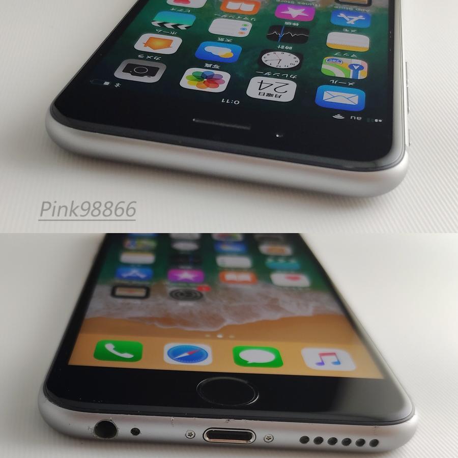 ☆人気☆au iPhone6S 16GB スペースグレイ/本体16G/格安MVNO SIM使用可能/格安SIM月額700円から/IOS11.4/電池最大容量87%_画像4
