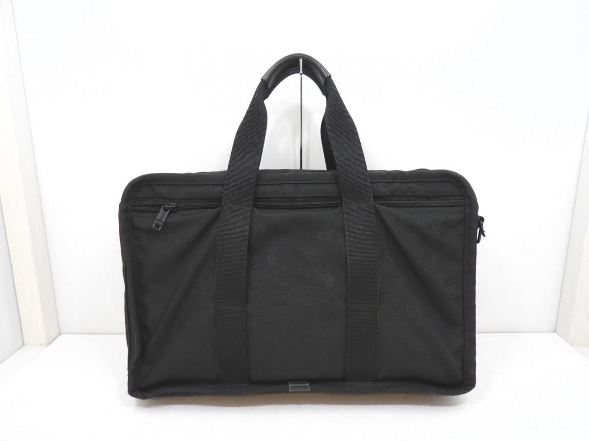[146M732] TUMI トゥミ ブリーフケース 204D3 ビジネスバッグ ナイロン ブラック BLACK 大容量 メンズ 鞄 カバン 中古品_画像2