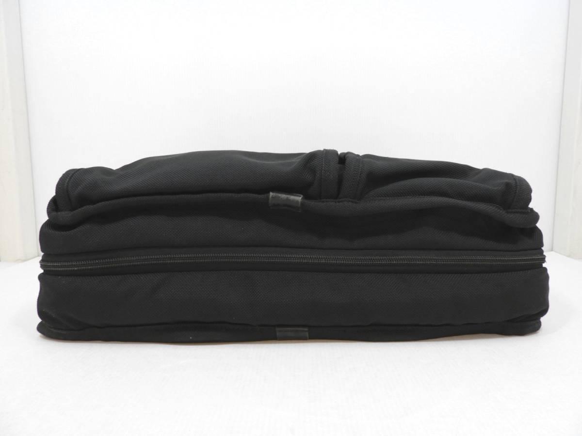 [146M732] TUMI トゥミ ブリーフケース 204D3 ビジネスバッグ ナイロン ブラック BLACK 大容量 メンズ 鞄 カバン 中古品_画像3