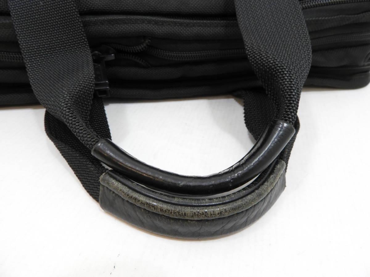 [146M732] TUMI トゥミ ブリーフケース 204D3 ビジネスバッグ ナイロン ブラック BLACK 大容量 メンズ 鞄 カバン 中古品_画像5