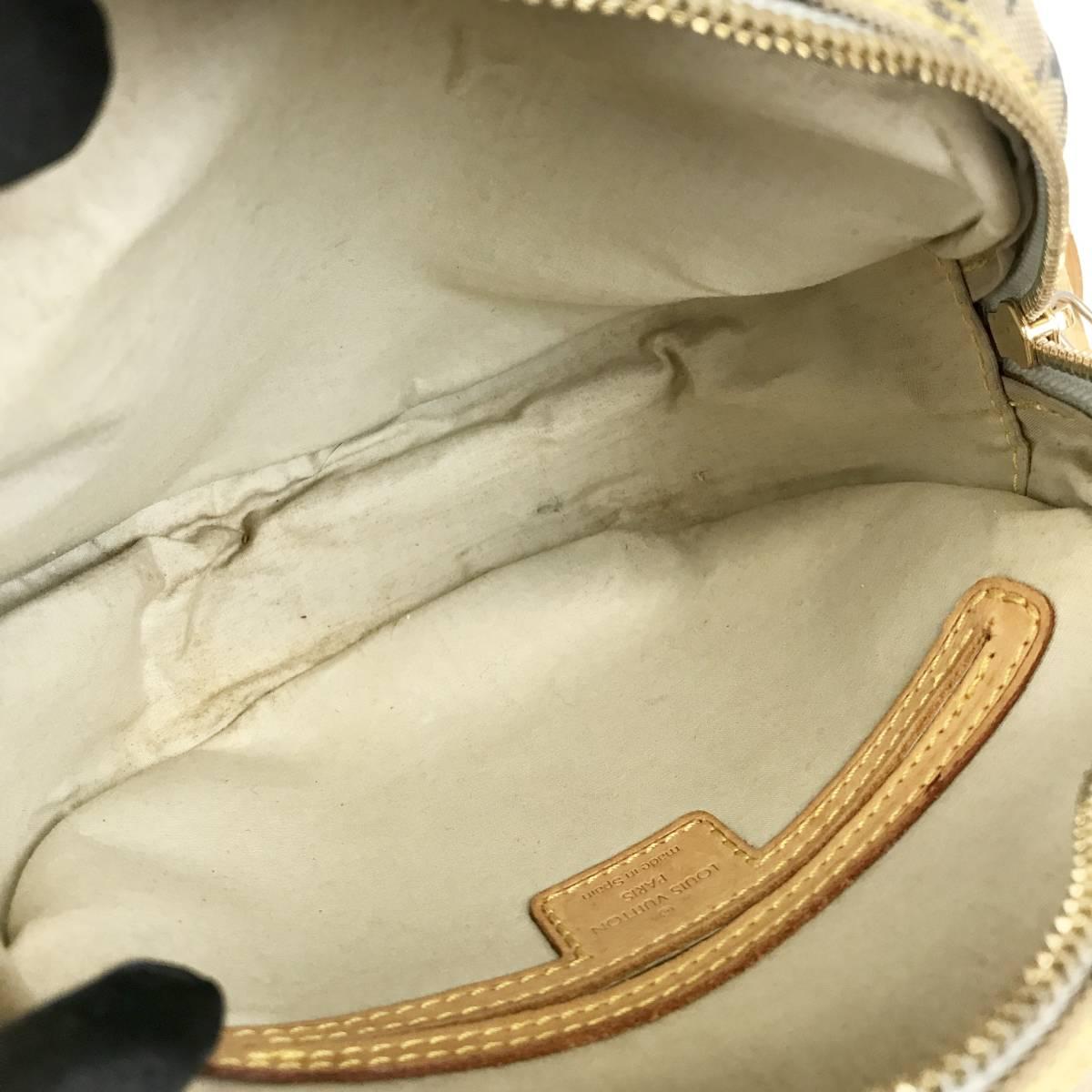 LOUIS VUITTON ルイヴィトン ショルダーバッグ モノグラムミニ ショルダーバッグ ポシェット ジャンヌGM M92000_画像10