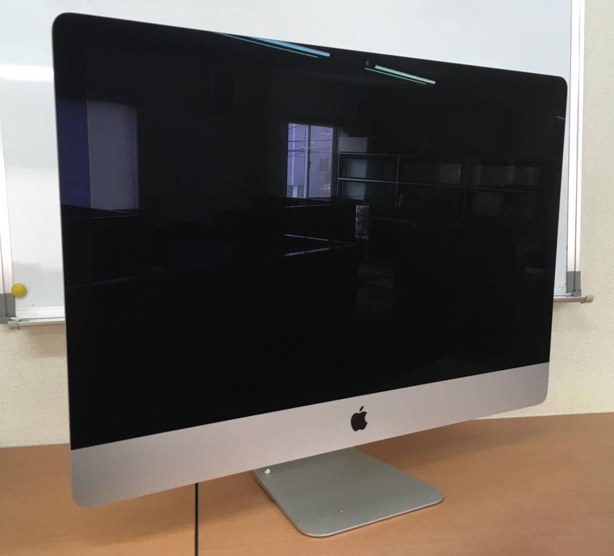 ◇アップル 27inch iMac Core i5 3.4GHz/8GB/1TB◇使用期間 約1年2ヶ月◇