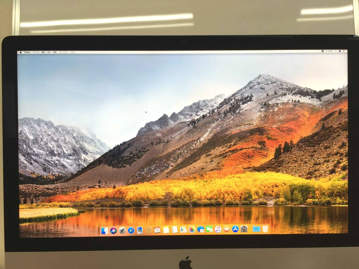 ◇アップル 27inch iMac Core i5 3.4GHz/8GB/1TB◇使用期間 約1年2ヶ月◇_画像3