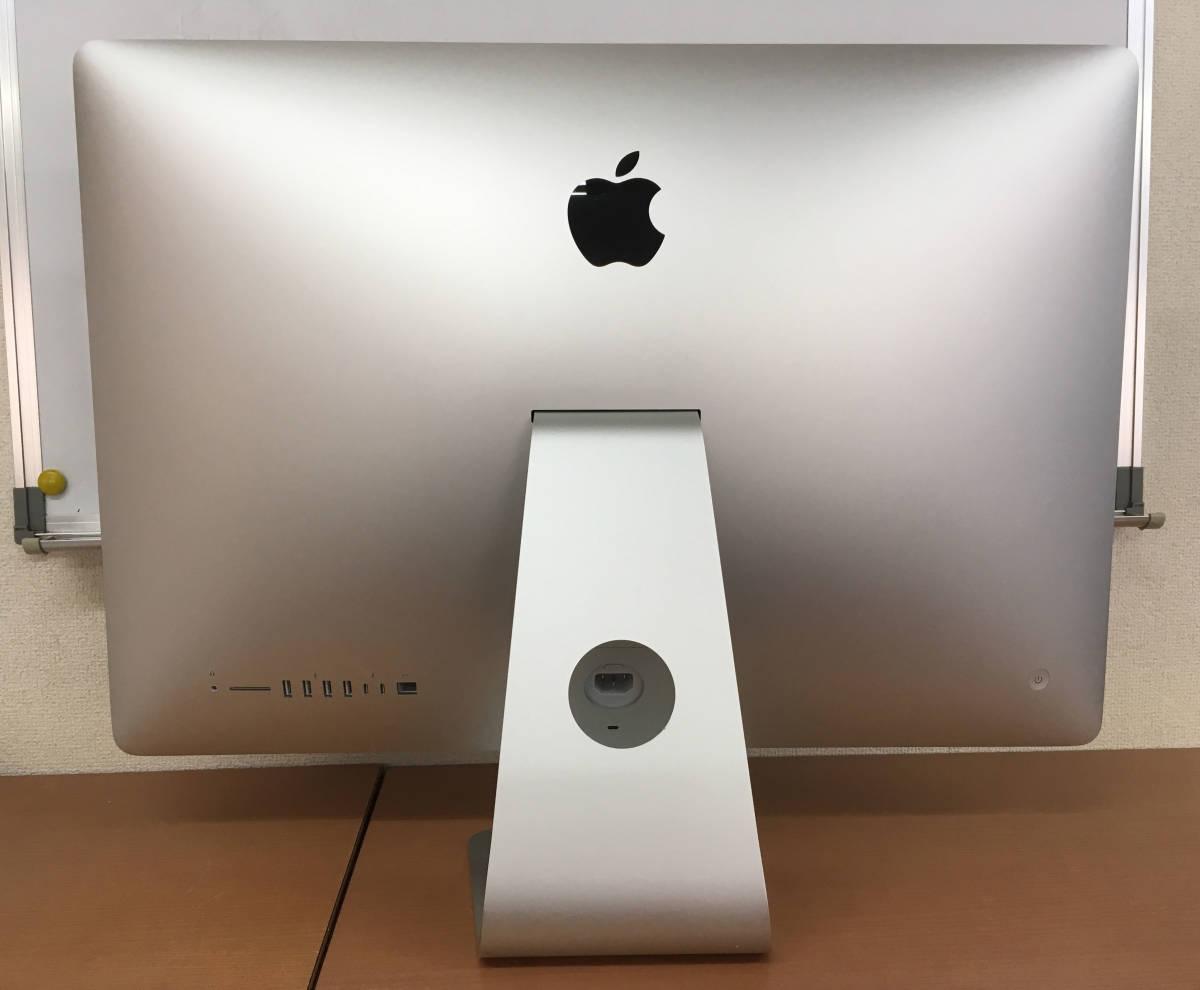 ◇アップル 27inch iMac Core i5 3.4GHz/8GB/1TB◇使用期間 約1年2ヶ月◇_画像2