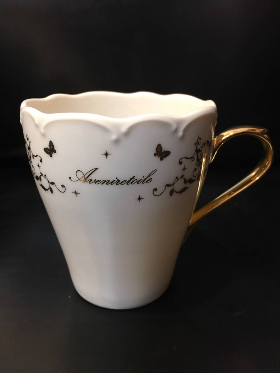 新品未使用 入手困難 ノベルティ Aveniretoile アベニールエトワール マグカップ 食器 キッチン コップ 陶磁器 コーヒーカップ _画像2