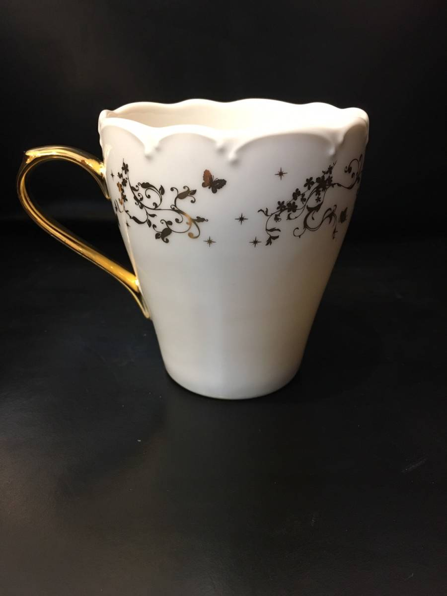 新品未使用 入手困難 ノベルティ Aveniretoile アベニールエトワール マグカップ 食器 キッチン コップ 陶磁器 コーヒーカップ _画像4