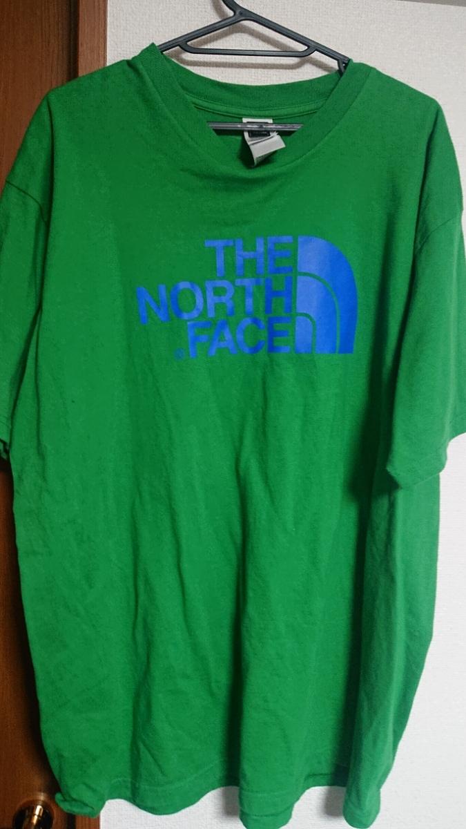 ザ ノースフェイス グリーン Tシャツ the north face l グリーン
