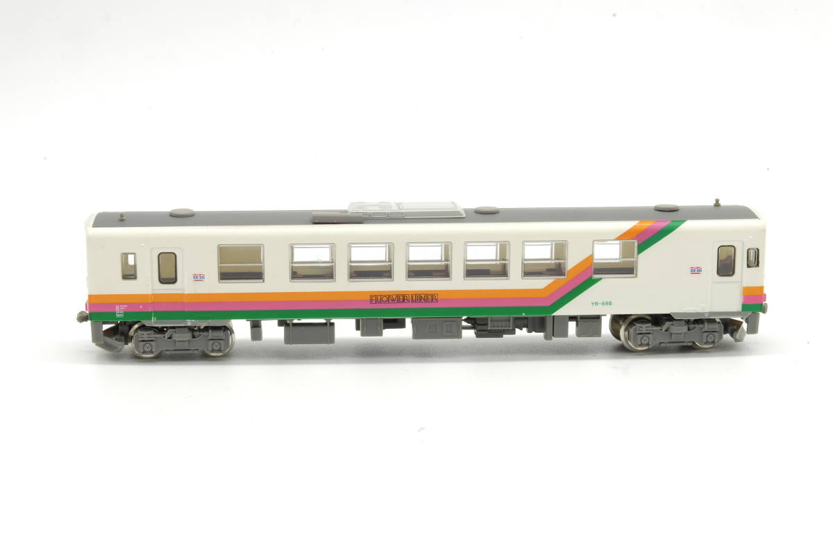 トミーテック 鉄コレ NDC 山形鉄道YR-880形 走行化済T車 美品_画像2