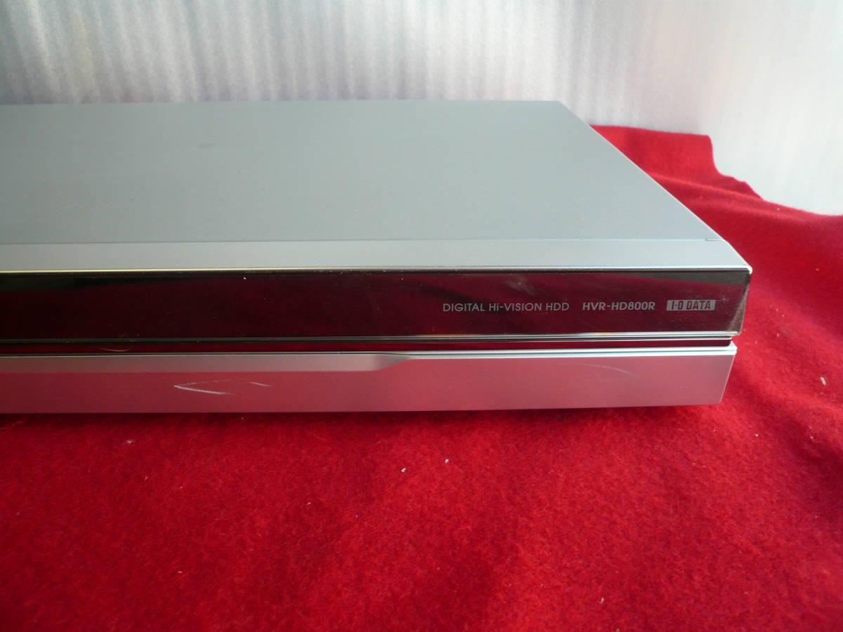 ☆ハードディスクレコーダー I.O DATA Rec-POT HVR-HD800R_画像4