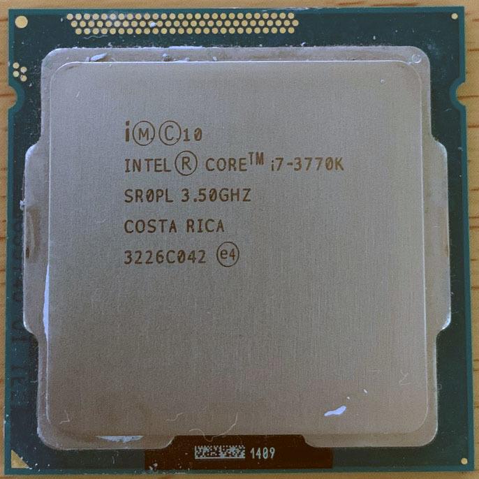 Core i7 8700K 3.5GHz