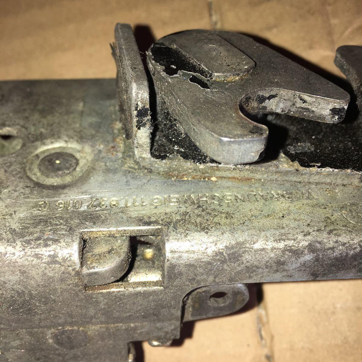 *NO.448 空冷 VW フォルクスワーゲン T-1 ビートル ドア ロック メカニズム_画像10