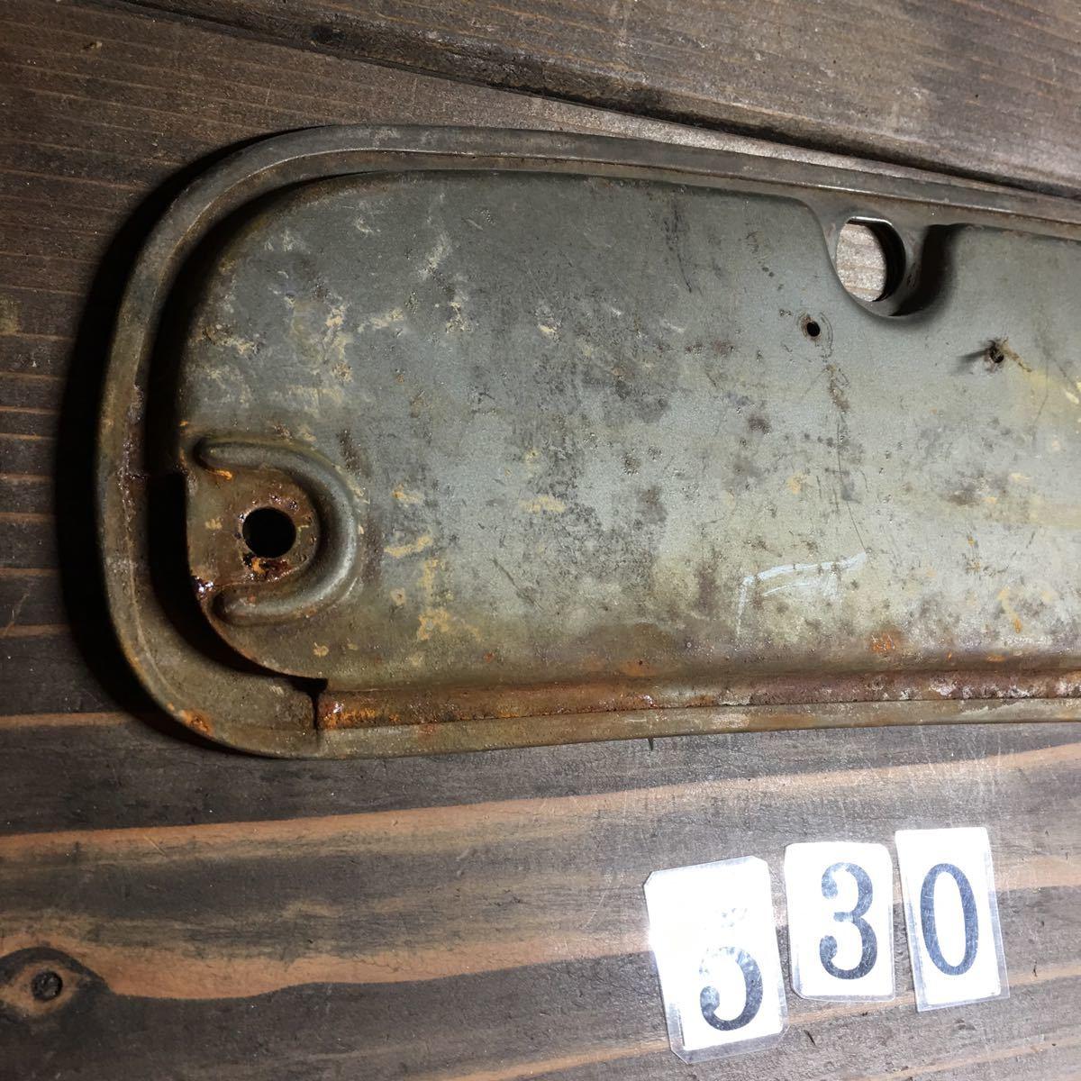 *NO.530 空冷 T-1 オーバル ビートル beetle グローブボックス リッド VW フォルクスワーゲン 左ハンドル_画像7
