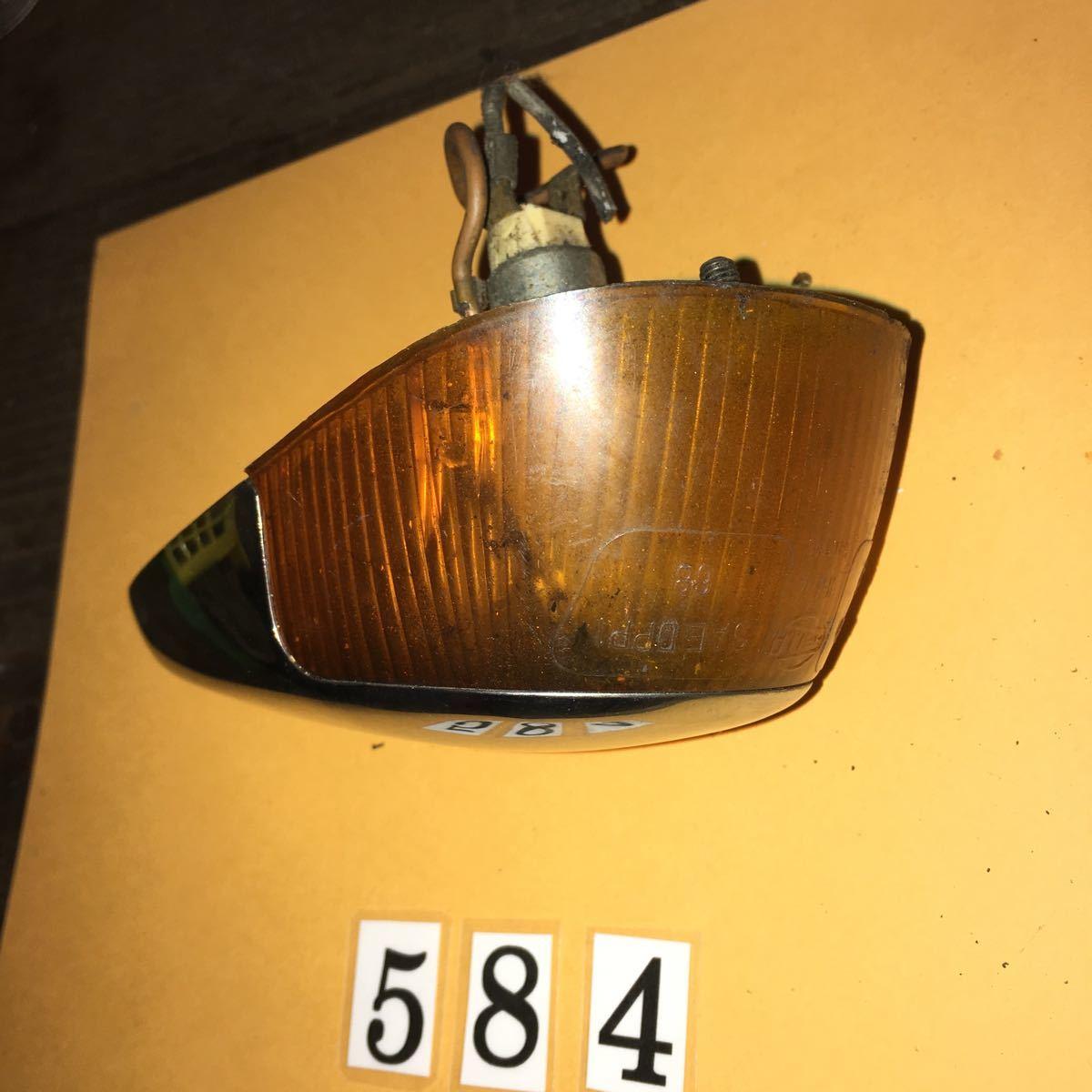 *NO.584 空冷 VW フォルクスワーゲン T-1 フロント フラッシャー レンズ ビートル ASSY_画像4