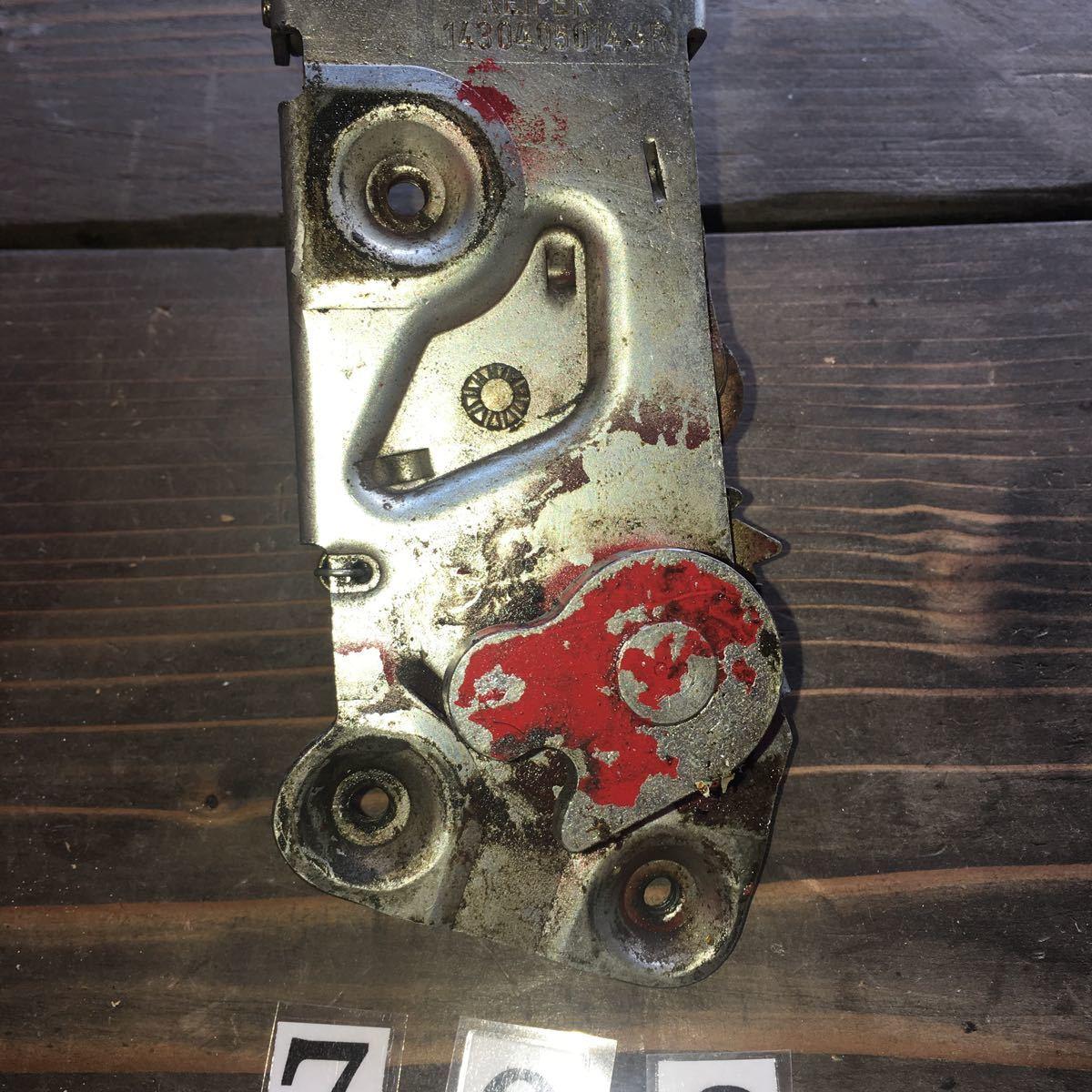 *NO.708 空冷 VW フォルクスワーゲン カルマンギア ドア ロック メカニズム_画像4