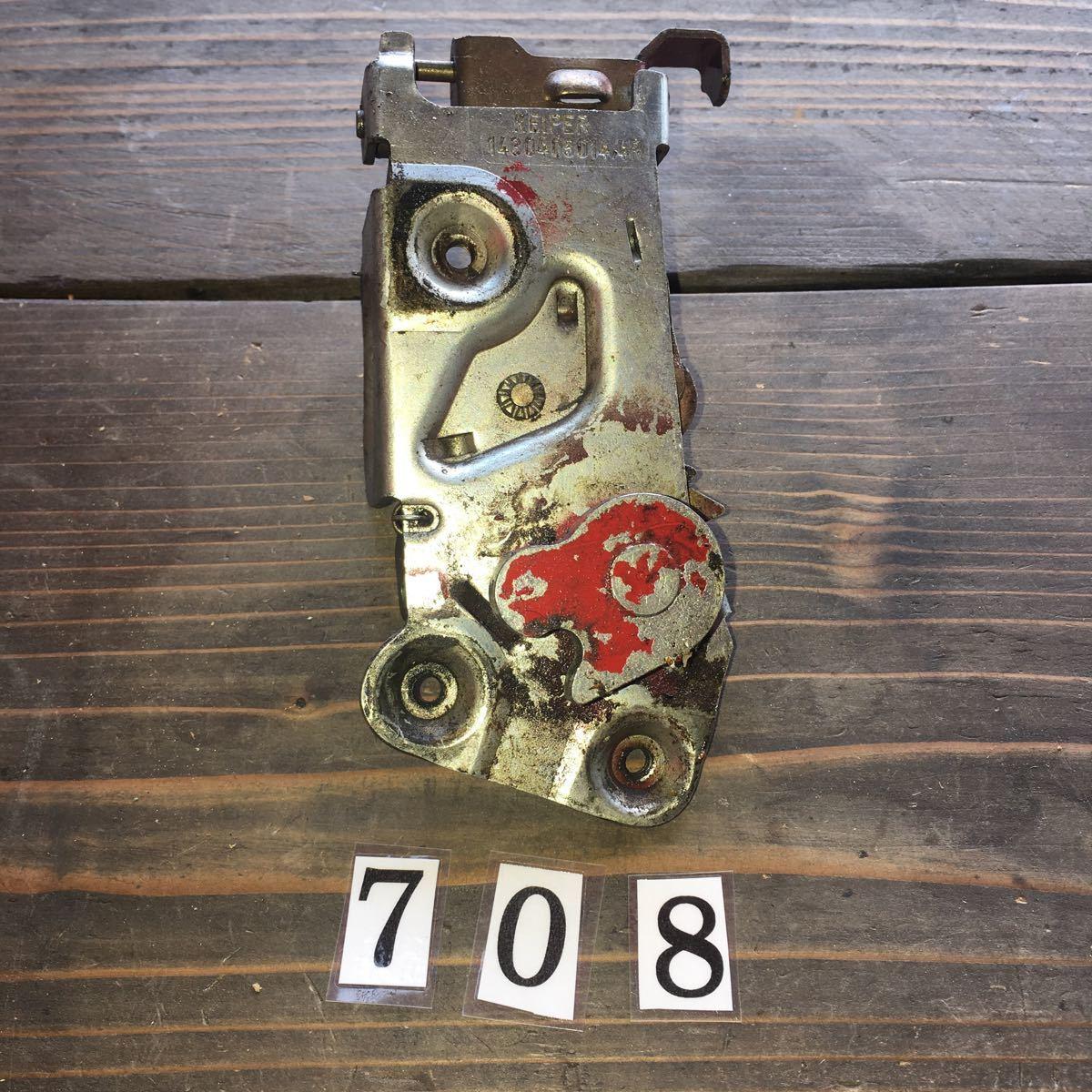 *NO.708 空冷 VW フォルクスワーゲン カルマンギア ドア ロック メカニズム_画像1
