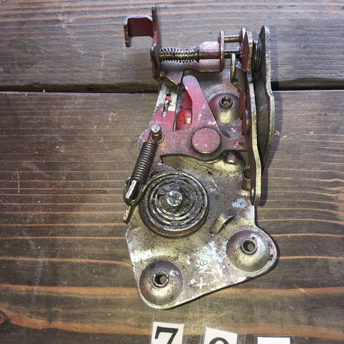 *NO.708 空冷 VW フォルクスワーゲン カルマンギア ドア ロック メカニズム_画像7