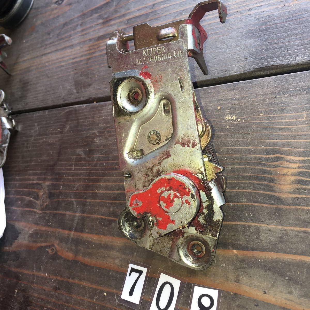 *NO.708 空冷 VW フォルクスワーゲン カルマンギア ドア ロック メカニズム_画像6