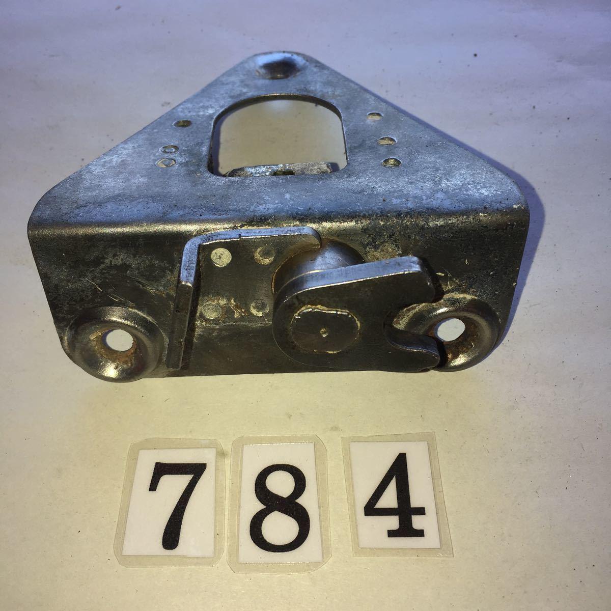 *NO.784 空冷 VW フォルクスワーゲン タイプ2 type2 T-2 リアカーゴドア ロックメカニズム アーリー レイト 純正 T-2 '67-'71用
