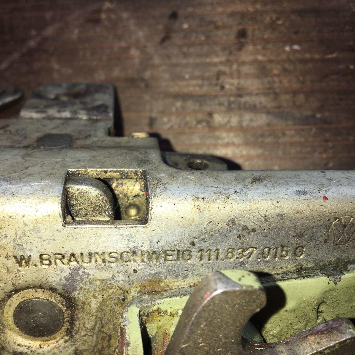 *NO.803 空冷 VW フォルクスワーゲン タイプ1 type1 T-1 ドアロックメカニズム 純正 左_画像3