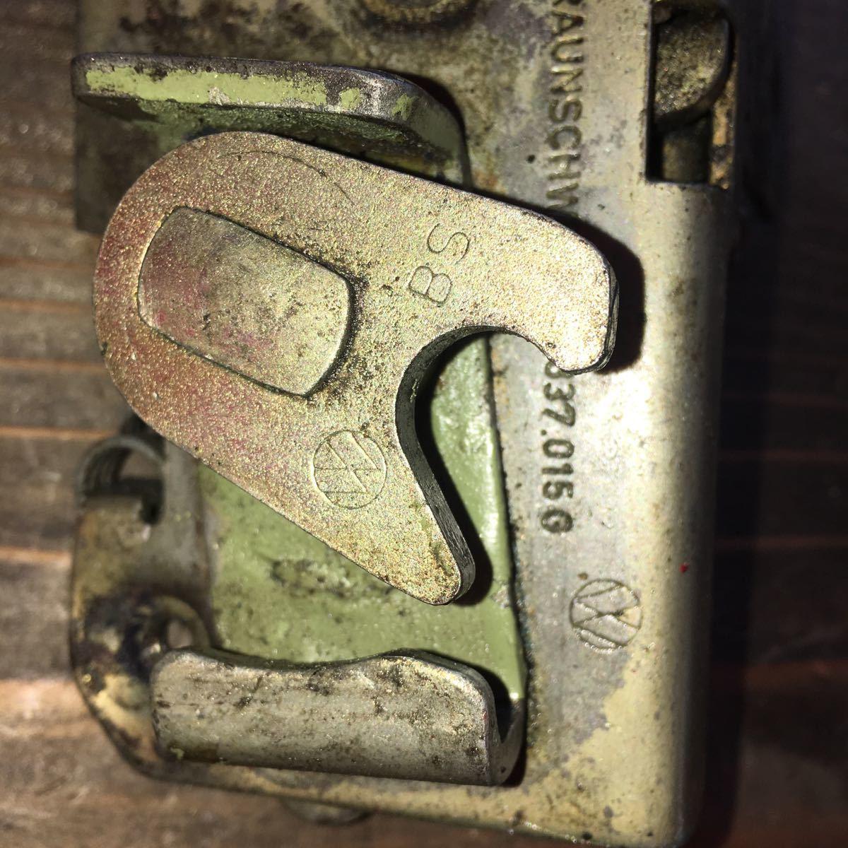 *NO.803 空冷 VW フォルクスワーゲン タイプ1 type1 T-1 ドアロックメカニズム 純正 左_画像4