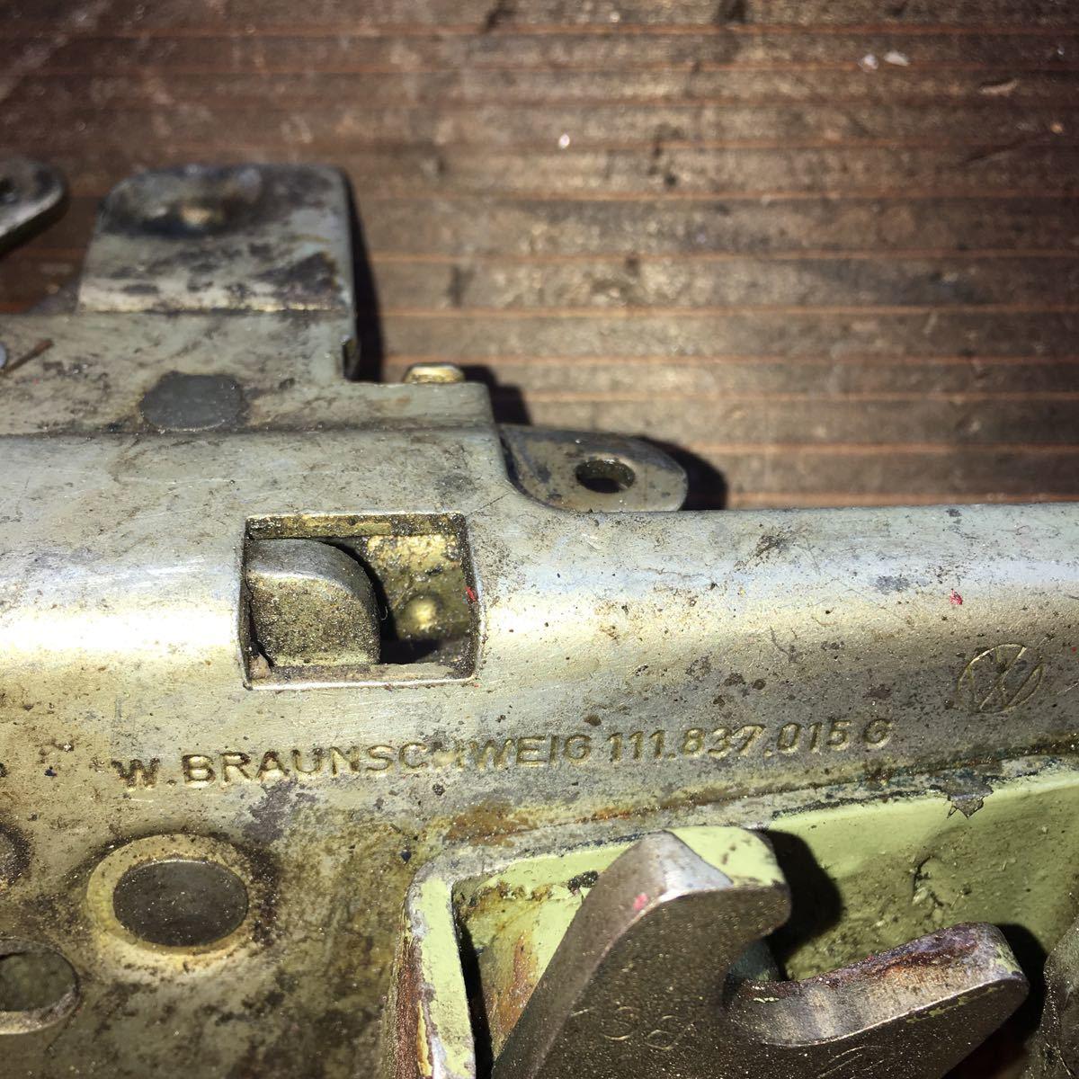 *NO.803 空冷 VW フォルクスワーゲン タイプ1 type1 T-1 ドアロックメカニズム 純正 左_画像2
