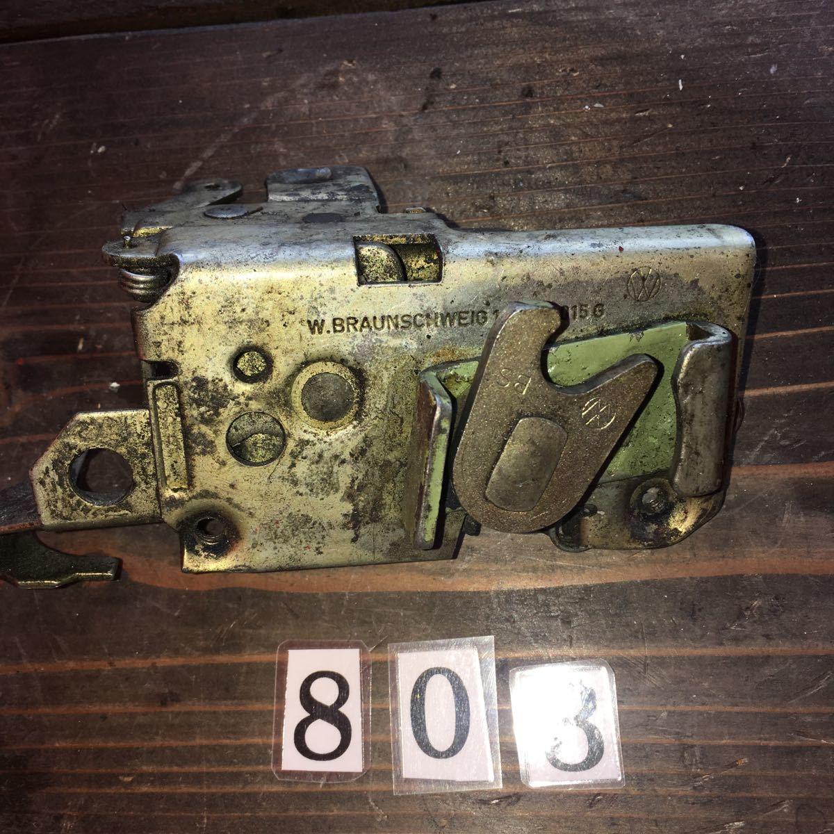 *NO.803 空冷 VW フォルクスワーゲン タイプ1 type1 T-1 ドアロックメカニズム 純正 左