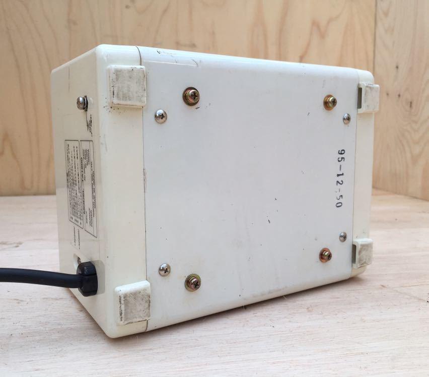 【売り切り】中古 KODEN 東京興電 海外 旅行用 トロイダルトランス ステップダウン 変圧器 TA-1500_画像4