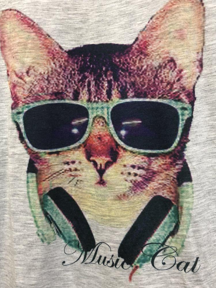 ネコ柄Tシャツ_画像2