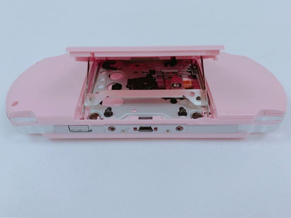 G693 【美品】 PSP 本体 PSP-3000 BP (ブロッサムピンク) 完品 中古 _画像8