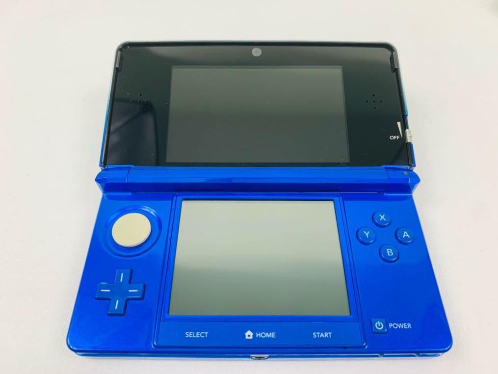 G686 ニンテンドー 3DS 本体 コバルトブルー NINTENDO 任天堂 美品 完品 中古品_画像5