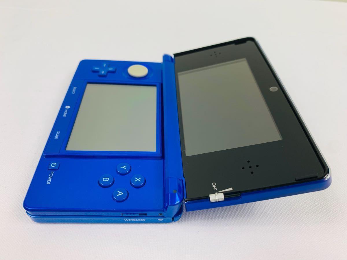 G686 ニンテンドー 3DS 本体 コバルトブルー NINTENDO 任天堂 美品 完品 中古品_画像6