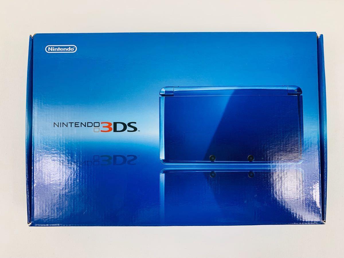 G686 ニンテンドー 3DS 本体 コバルトブルー NINTENDO 任天堂 美品 完品 中古品