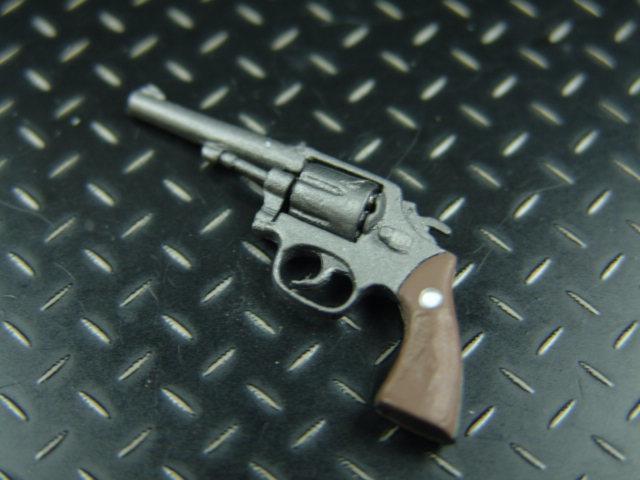 1/6ドールカスタムパーツ: 【 U.S. 】38口径 モデル10リヴォルバー(BGT製)ショートバレル_1/6スケールリヴォルバー
