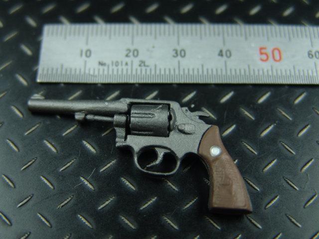 1/6ドールカスタムパーツ: 【 U.S. 】38口径 モデル10リヴォルバー(BGT製)ショートバレル_こちらはショートバレルタイプ