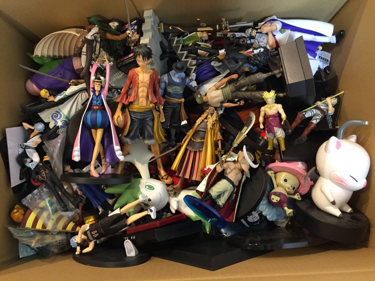 ジャンク品 おもちゃ フィギュア など 400個~大量まとめセット / ワンピース ドラゴンボール 仮面ライダー 美少女系 ポケモン チョロQなど