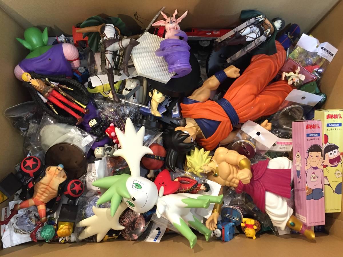 ジャンク品 おもちゃ フィギュア など 400個~大量まとめセット / ワンピース ドラゴンボール 仮面ライダー 美少女系 ポケモン チョロQなど_画像6
