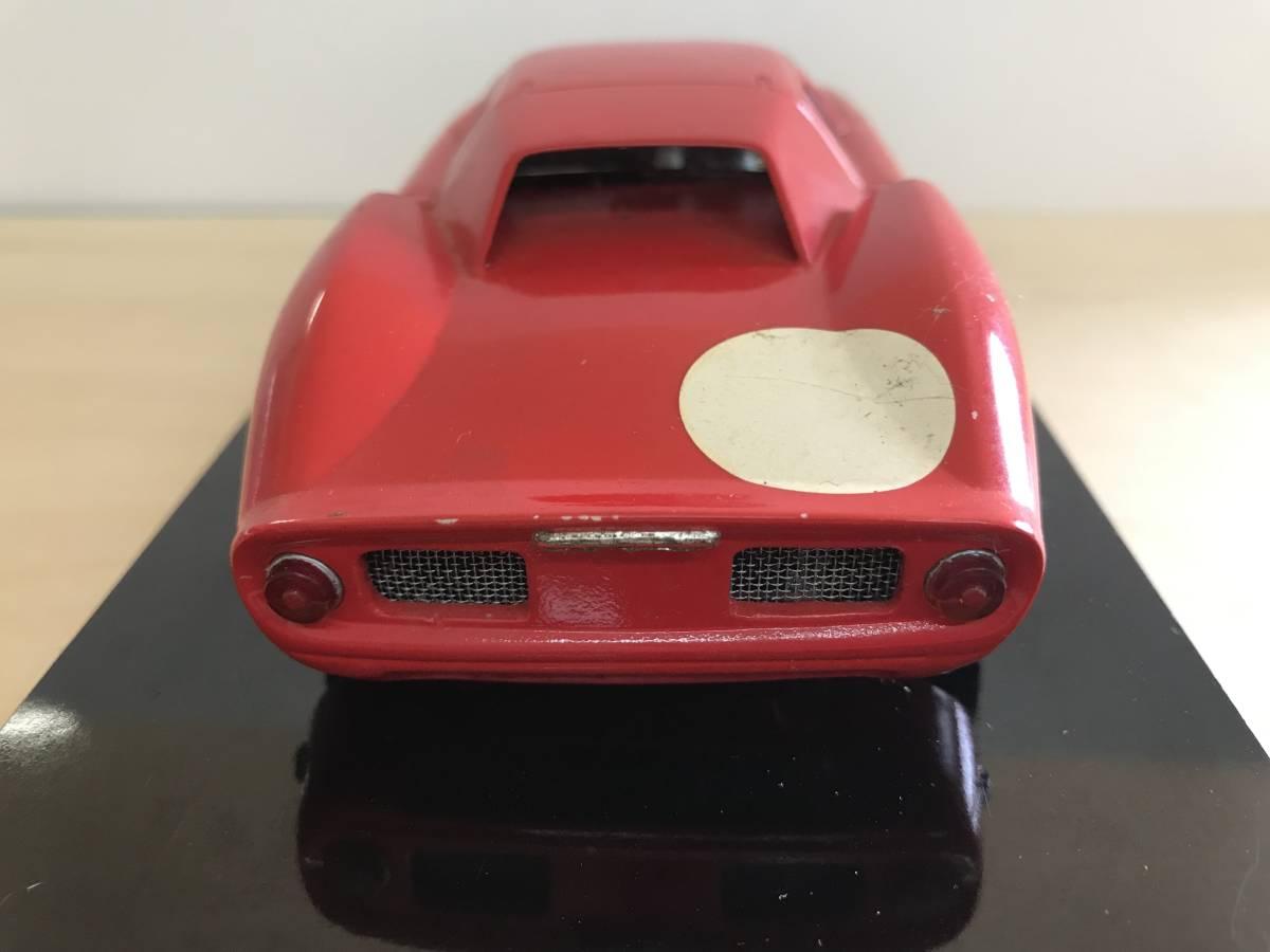 1/24 古い昔のスロットカー シャーシ&ボディー(フェラーリ 250LM)付き_画像5