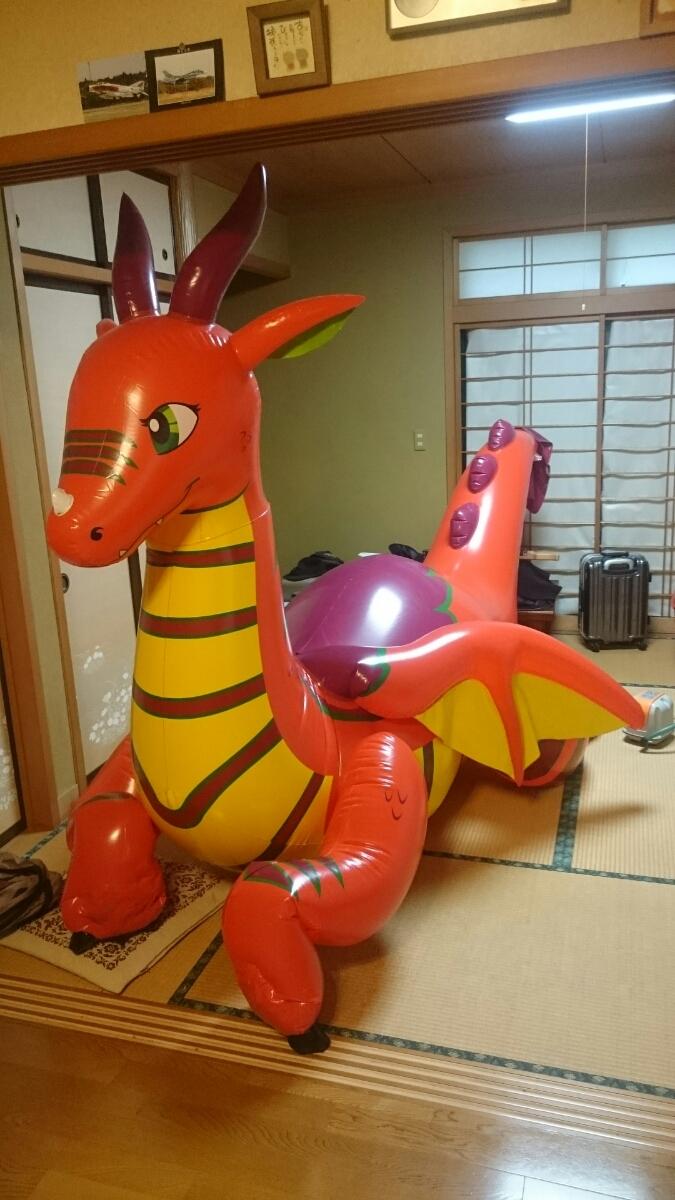 【ダブルレイヤード】ドラゴン 3.75m インフレータブル 送料無料