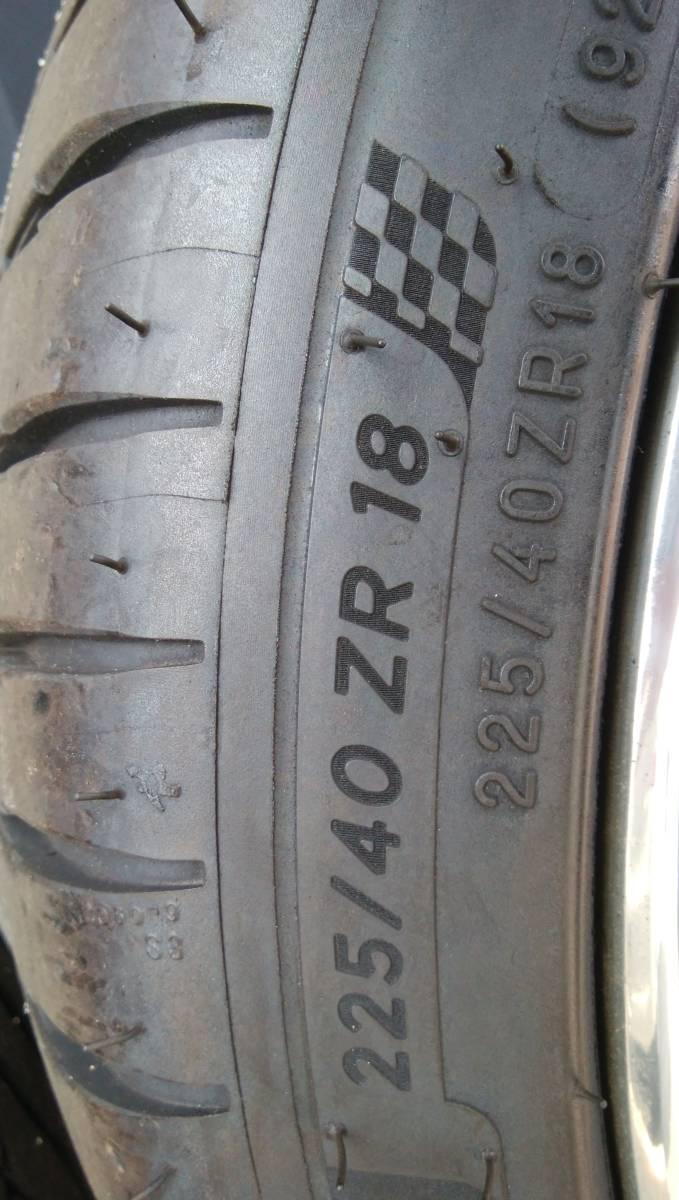 ☆ポルシェ996に装着 HREパフォーマンスホイル タイヤセット 225/40R18 265/35R18☆_画像6